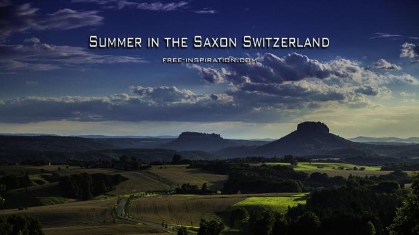 Summer in the Saxon Switzerland